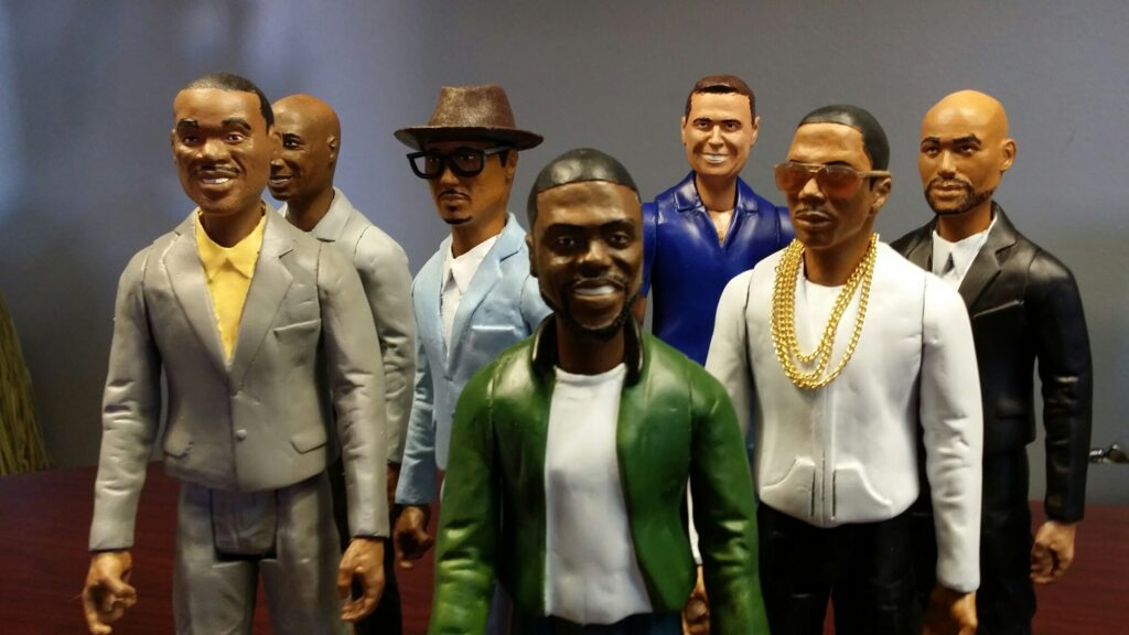 Real Husbands of Hollywood Miniatures: 3D Printing, Sculpting, Model Making, Molding, Casting & Scenic Paint.