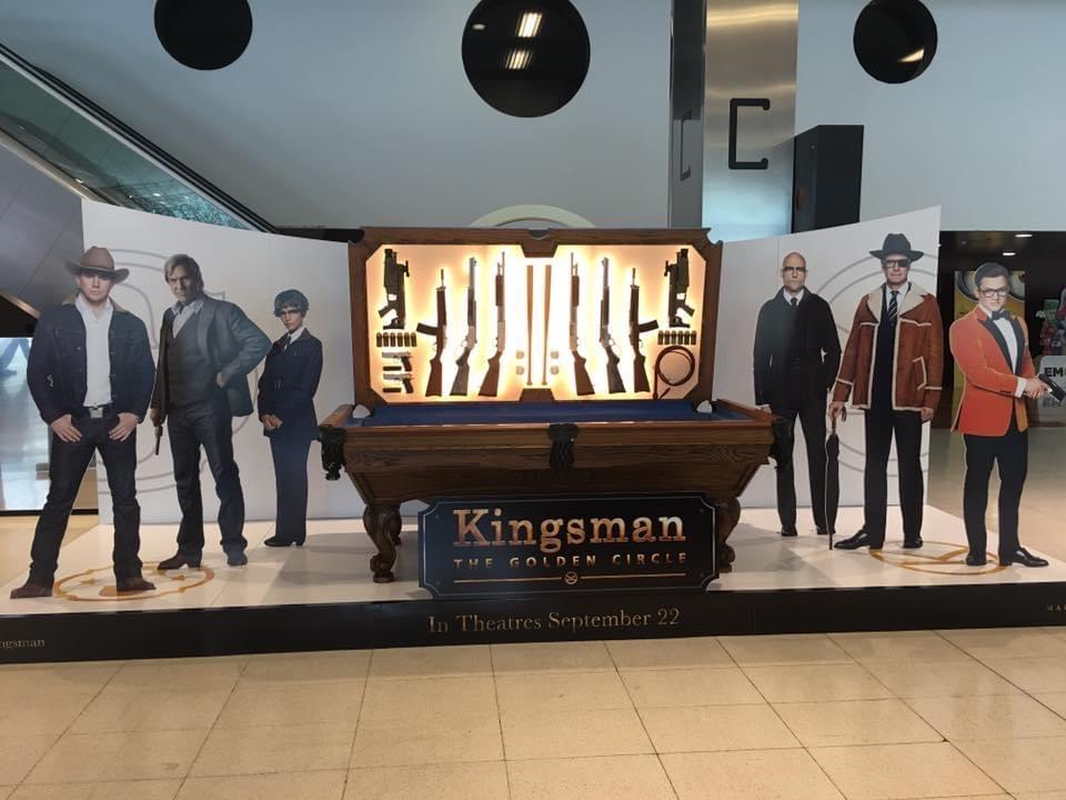 Kingsman at Comic Con: 3D Design, Metal & Mechanical Fabrication.