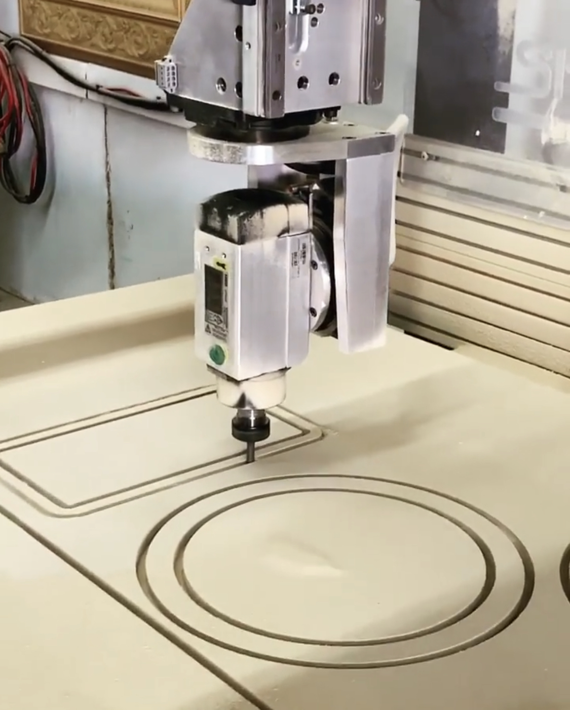 CNC: With our 3 Axis and 5 Axis CNC machines, as well as our CNC Mill and our Plasma Cam we can customize your project and cut precision parts in wood, acrylic, foam, steel, aluminum and brass, to name a few.