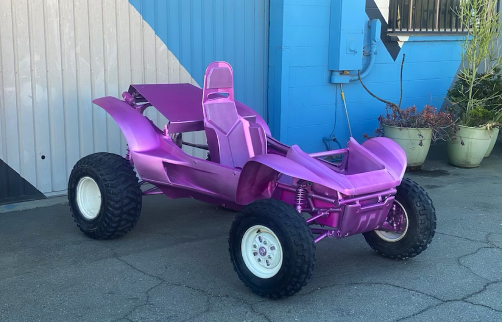 Custom Vehicle for Lady Gaga Custom Rover: 3D Design, CNC Milling, Vacuum Forming, Scenic Paint, Mechanical, Metal and Acrylic Fabrication.