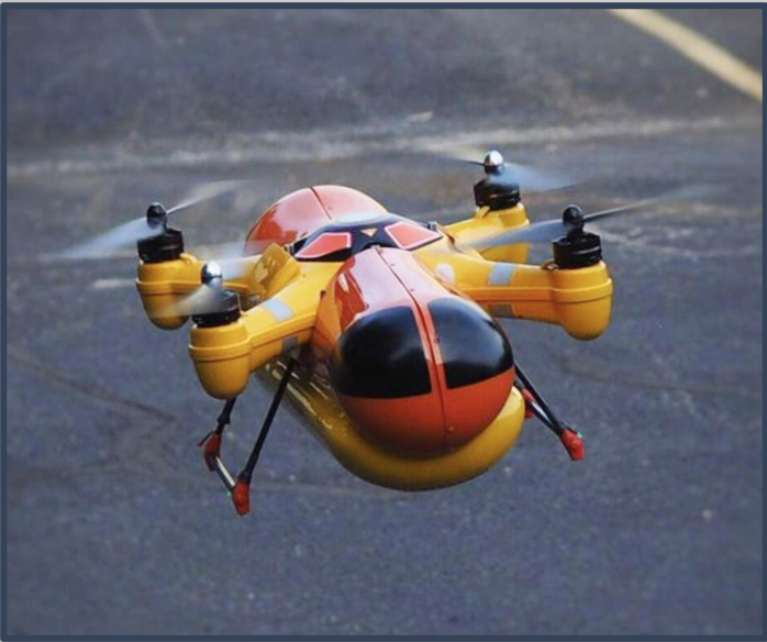 Oscar Meyer Drone: 3D Design, CNC Machining, Thermoforming, 3D Printing, Flat Bed Printing, Scenic Paint, Mechanical, Metal and Acrylic Fabrication.